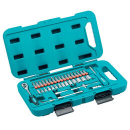 Makita P-90283 Socket and Ratchet Set 1/4in Drive (40 Piece Reviews