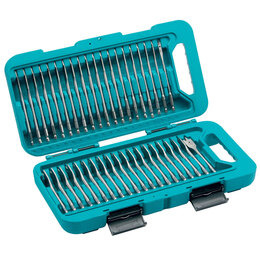 Makita P-90299 Flat Bit Set (40 Piece) Reviews