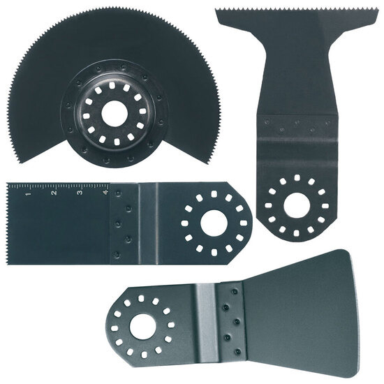 Makita B-30617 Floor Set 2 for Oscillating Multi Tools (4 Blades)