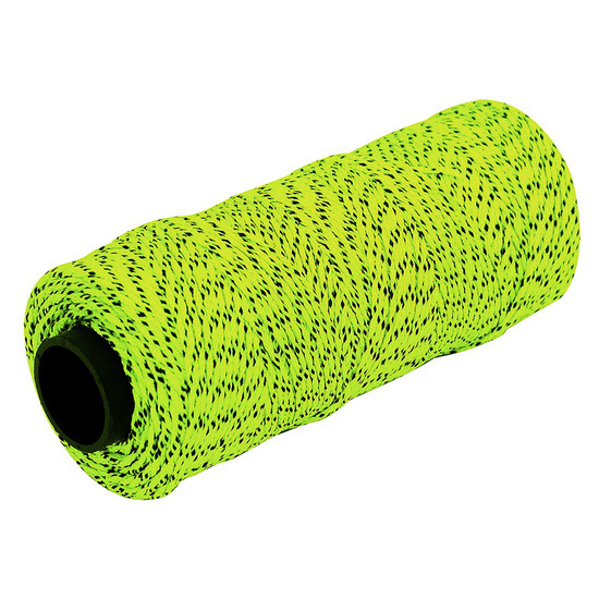 Marshalltown ML613 Braided Nylon Masons Line in Yellow and Black 500 Feet