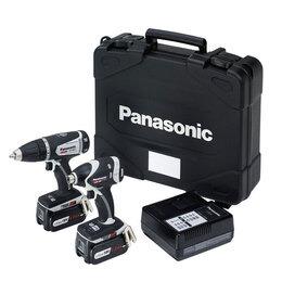 Panasonic EYC200LS2G31 14.4V/18V DV Drill Driver Impact Driver Twinpack Reviews