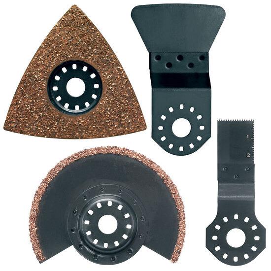 Makita B-30592 Tile Set 2 for Oscillating Multi Tools (4 Blades)