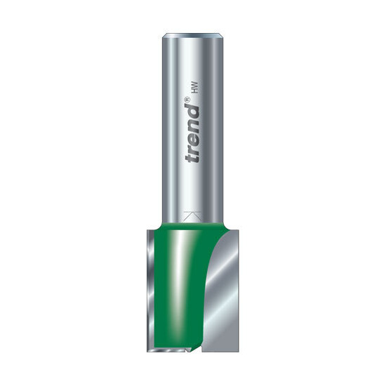 Trend C029X1/4TC Two Flute Cutter 19.1mm Diameter (Shank Diameter 1/4)