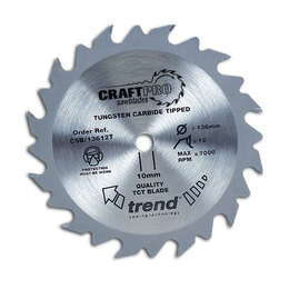 Trend CSB/16540T Craft Saw Blade 165mm X 40 Teeth X 20 Thin Reviews