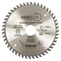 Trend CSB/21048 Craft Saw Blade 210mm X 48 Teeth X 30mm Reviews
