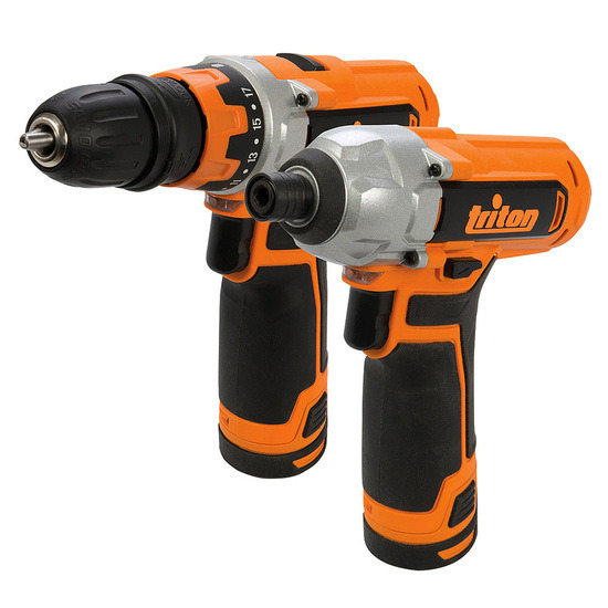 Triton T12TP 12V Cordless li-ion Twinpack with Drill Driver and Impact Driver
