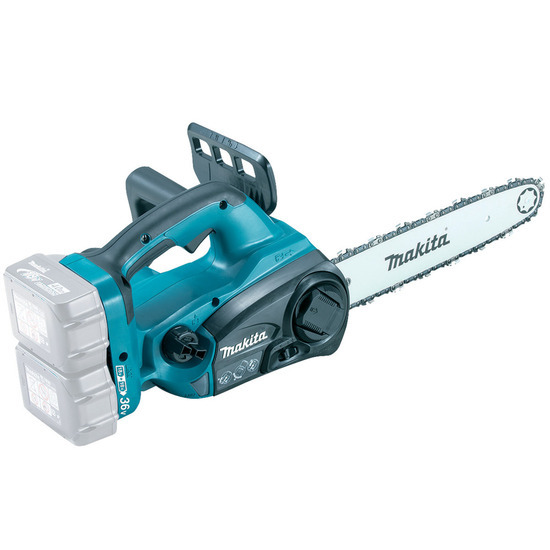 Makita DUC302Z 36V Cordless li-ion Chainsaw (Body Only) - accepts 2 x 18V