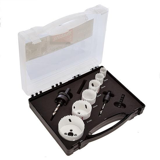 Makita D-47139 Electricians Holesaw Kit 6 Pieces