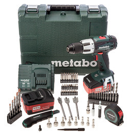 Metabo SB18LT 18V Cordless li-ion Combi Drill + 65 Accessories + 2 Batteries Reviews