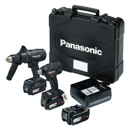 Panasonic EYC208LS3T Cordless Combi Drill/Impact Driver Twinpack - Black Edition Reviews