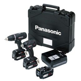 Panasonic EYC200LS3T Dual VoltCombi Drill/Impact Driver Twinpack - Black Edition Reviews