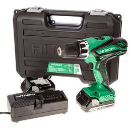 Hitachi DV18DGL/JF 18V Cordless li-ion Combi Drill (2 x 2.5Ah Batteries) Reviews