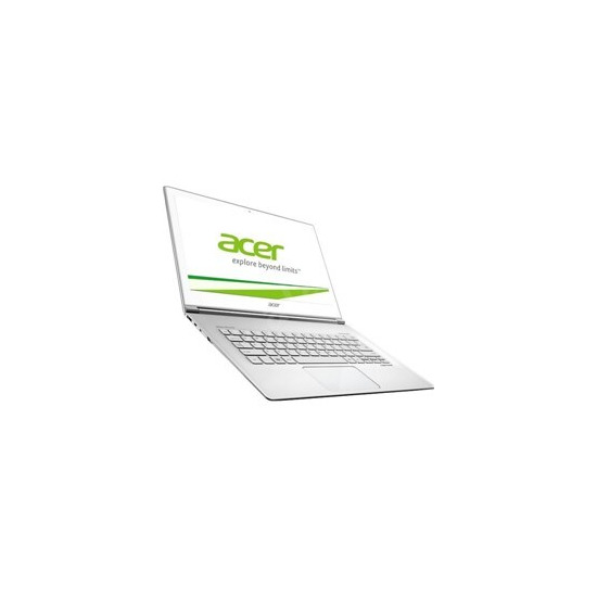 Acer Aspire S7-393 13.3 Glass White Multi-Touch Intel Core i7 - 5500U 8GB 256GB SSD Shared No Opt W