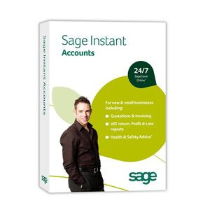 Photo of Sage Software Instant Accounts V16; 700 MB; 512 MB; 1GHZ; Microsoft Office 2000 +; Microsoft Windows 2000/Windows Server 2003/Windows XP/Windows Vista Software