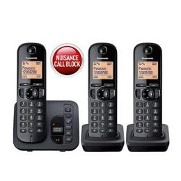 Panasonic KX-TGC220EB digital cordless phone with answering machine  trio Reviews