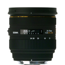 SIGMA 24-70 mm f/2.8 DG EX HSM IF Zoom Lens - for Canon Reviews