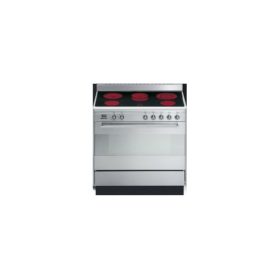 SMEG SUK91CMX8 Stainless steel 900mm Electric range cooker