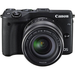 Photo of Canon EOS M3 With 18-55MM Lens Digital Camera