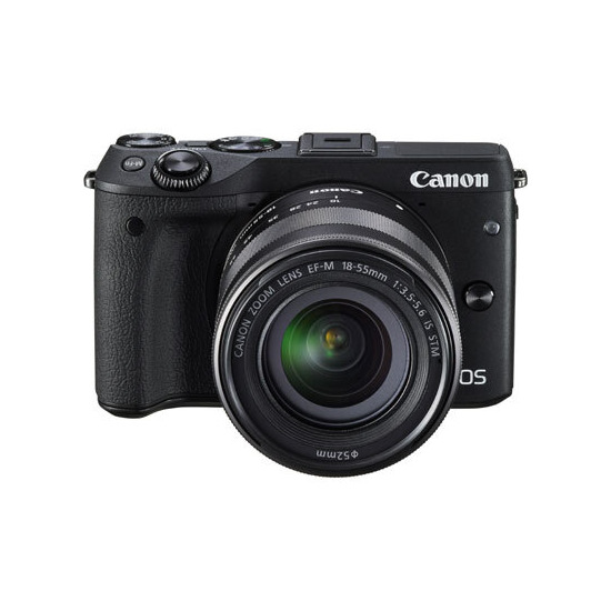 Canon EOS M3 with 18-55mm Lens