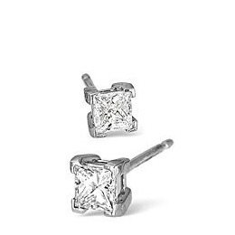 H/Si Stud Earrings 0.70CT Diamond In Platinum Reviews