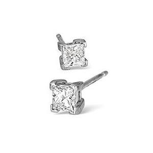 Photo of H/Si Stud Earrings 0.70CT Diamond In Platinum Jewellery Woman