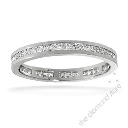Rae Platinum H/Si Diamond Full Eternity Ring 0.50ct Channel Set Reviews