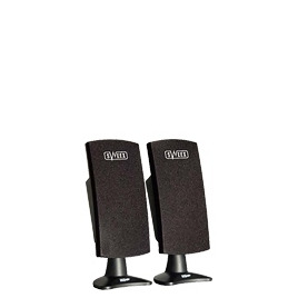 Sweex USB Speaker Set 120 Watt - PC multimedia speakers - USB - black Reviews
