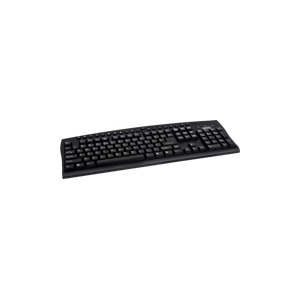Photo of Sweex Multimedia Keyboard - Keyboard - PS/2 - Black - UK Keyboard