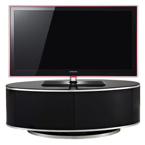 Photo of MDA DESIGNs Luna Oval With Beamtru Doors TV Cabinet In Oak Up To 50 Inch TV Stands and Mount