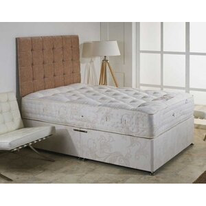 Photo of Luxan Elizabeth No Drawers With Headboard 4 6 Divan Bedding
