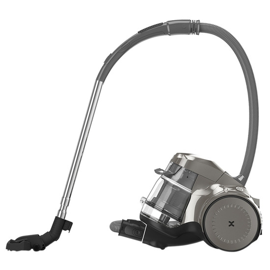 Vax Air Silence Pets & Family C86-AW-Pfe Cylinder Bagless Vacuum Cleaner - Graphite Black & White