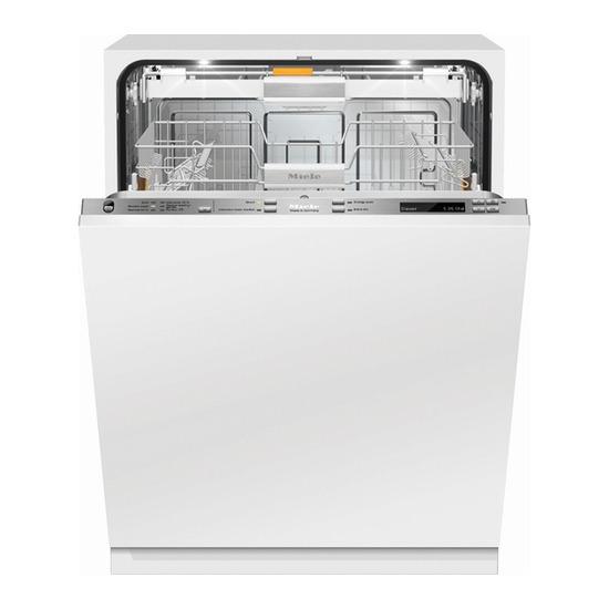 Miele G6588 SCVi XXL K2O Full-size Integrated Dishwasher