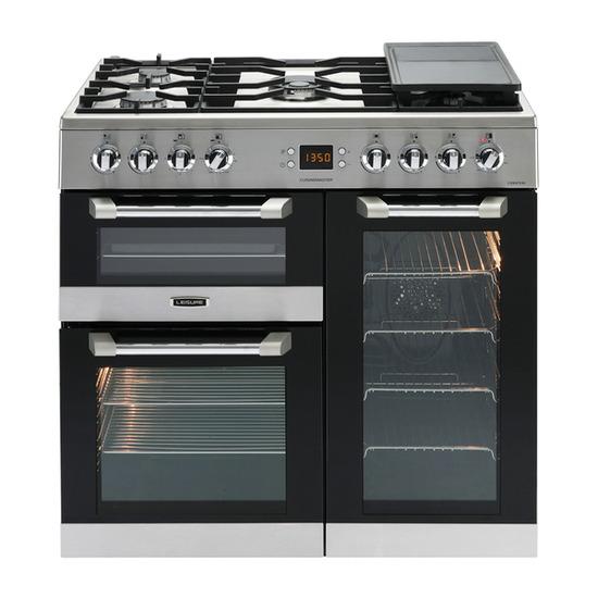 Cuisinemaster 90 Dual Fuel Range Cooker Stainless Steel