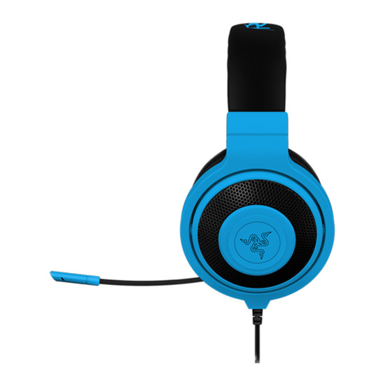 Kraken Pro Neon Gaming Headset - Blue