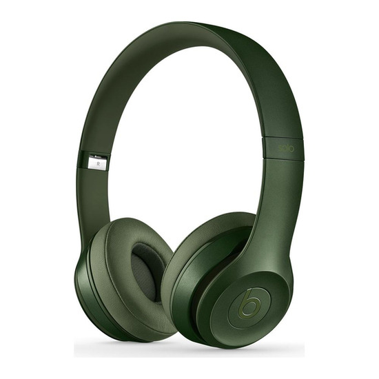 Beats by Dr. Dre Solo 2 Headphones - Royal Edition Hunter Green