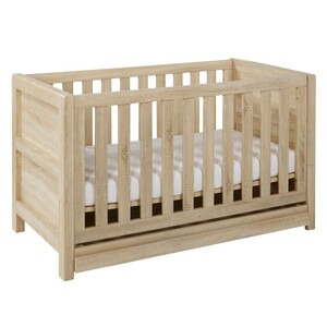 Photo of Tutti Bambini Milan Cot Bed - Reclaimed Oak Baby Product