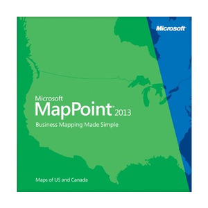 Photo of Microsoft MapPoint 2013 Software