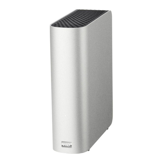 WD My Book Studio External Hard Drive for Mac