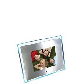 "8"" Aluminium (with Blue LED Surround) Multi Media Digital Frame Reviews"