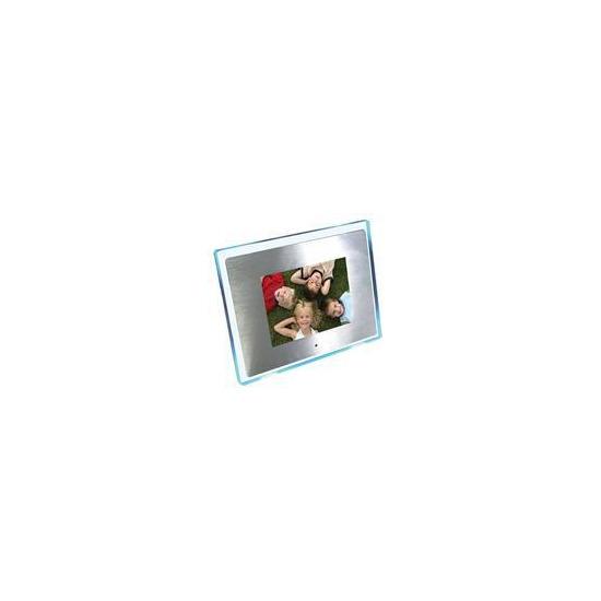 "8"" Aluminium (with Blue LED Surround) Multi Media Digital Frame"