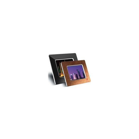 """8"""" Leather Effect LCD Digital Picture Frame"""
