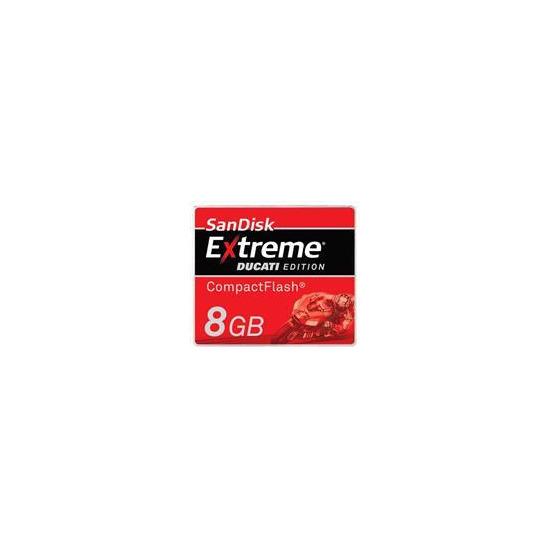 Extreme Ducati Edition Compactflash 8GB Card