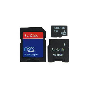 Photo of SanDisk Micro SD Mobile Memory Kit 1GB Memory Card