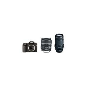 Photo of Canon EOS 40D With EFS 17-85MM and EF 70-300MM IS USM Lenses Digital Camera