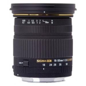 Photo of Sigma 18-50MM F/2.8 EX DC Macro / HSM Nikon AF Lens