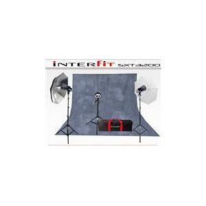 Photo of Interfit SXT3200 3 Head Kit (INT115) Studio Kit
