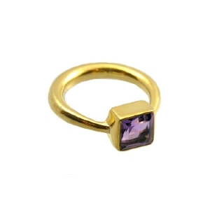 Photo of Amethyst Mini Kate Ring Jewellery Woman