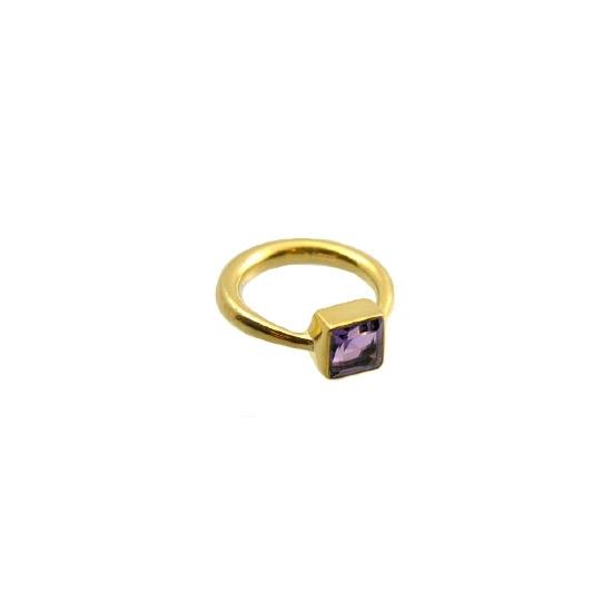 Amethyst mini kate ring