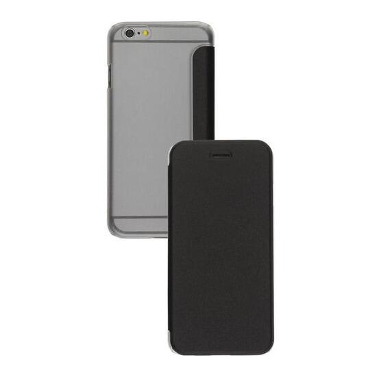 Clear Back Folio iPhone 6 Case - Black