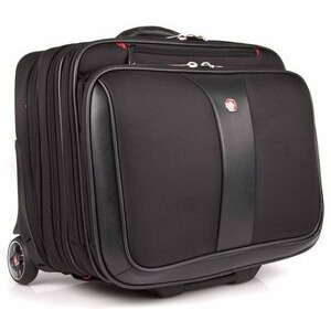 Photo of Wenger Swissgear Patriot Roller 2 Piece Travel Set For Laptops Up To 17 - Black Luggage